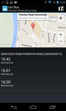 Uni Bus Kingston apk screenshot