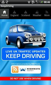 Keep Driving poster