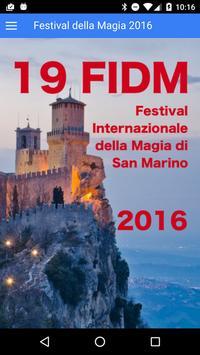 Festival della Magia 2016 poster
