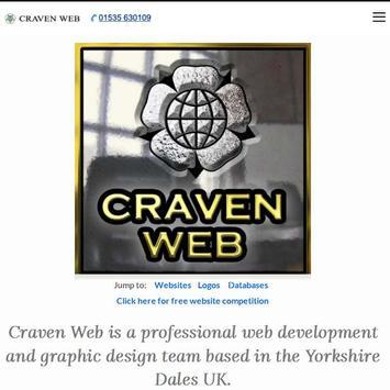 Craven Web apk screenshot