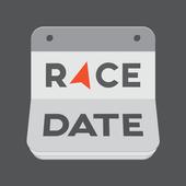 Racedate - find UK run, bike, tri & OCR entries icon