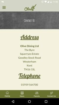 Olive Dining apk screenshot