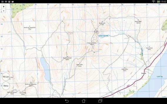 Scotland Outdoor Map Offline screenshot 4