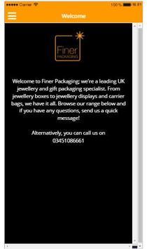 Finer Packaging poster