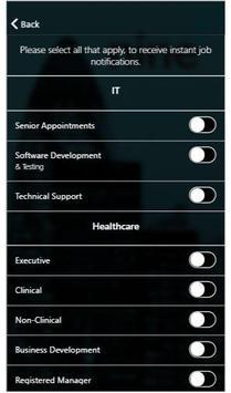 Ninesharp Recruitment screenshot 1