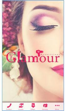 Glamour Beauticians poster