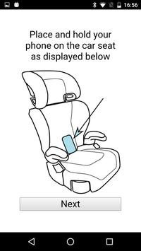 Child Car Seat Angle Tester poster