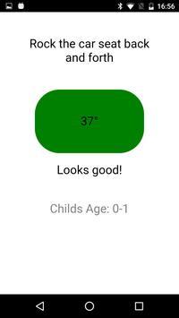 Child Car Seat Angle Tester apk screenshot