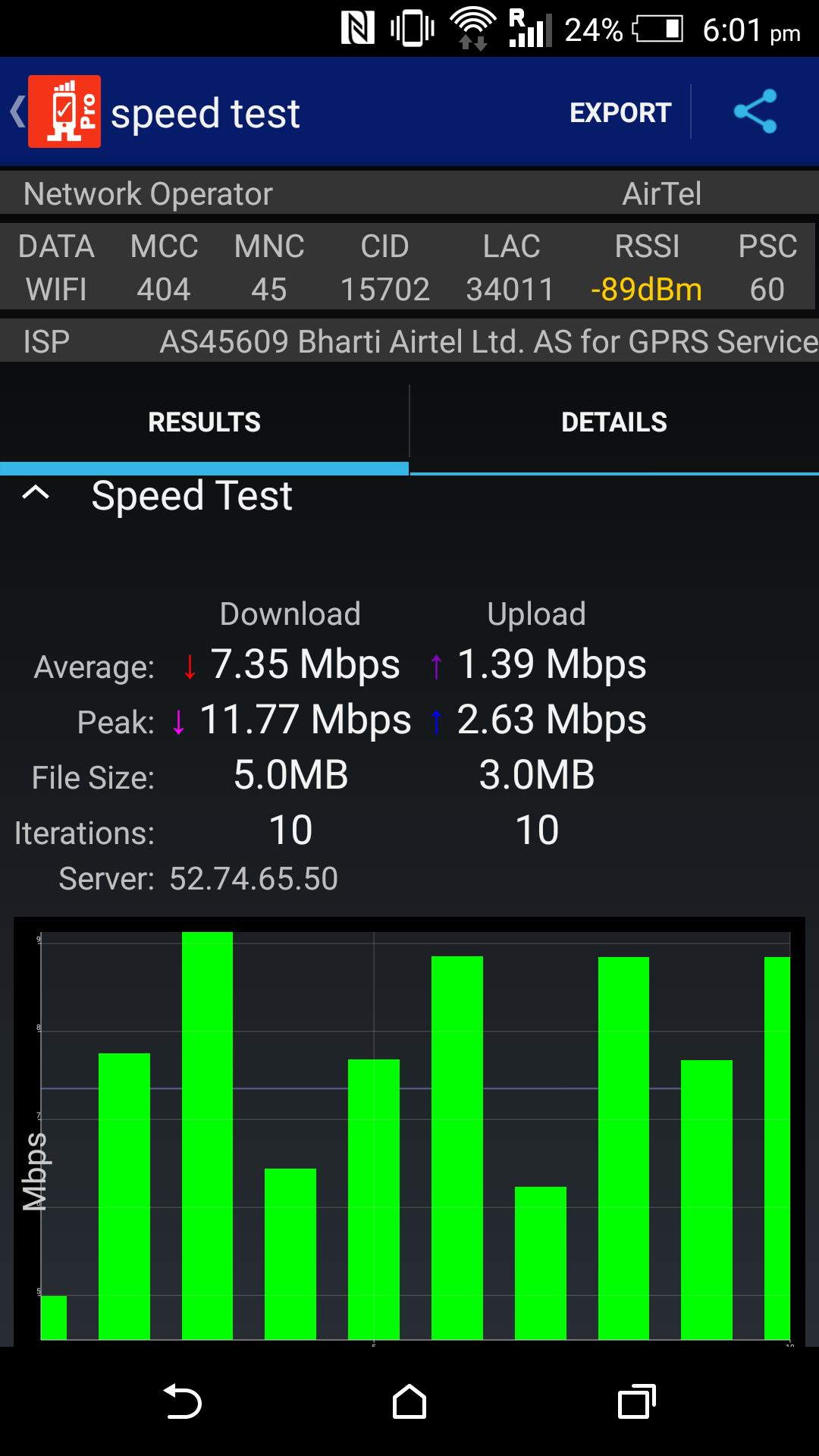Network coverage & Speed Test for Android - APK Download