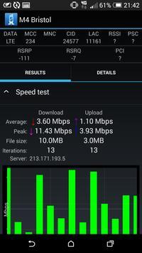 RantCell - Network Speed Test apk screenshot
