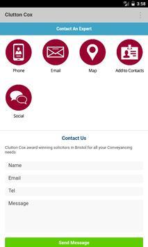 Clutton Cox Conveyancing apk screenshot
