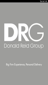 DRG Chartered Accountants poster