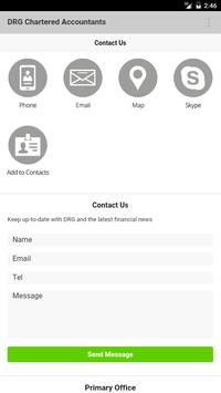 DRG Chartered Accountants apk screenshot