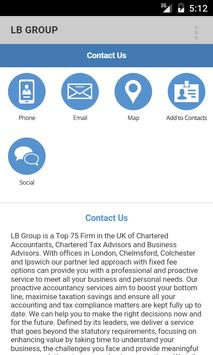 LB GROUP CHARTERED ACCOUNTANTS apk screenshot