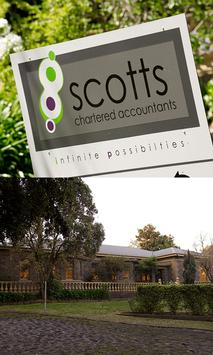 Scotts Chartered Accountants poster