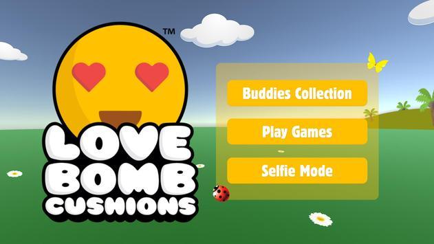 Love Bomb Cushions poster