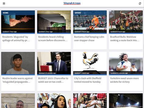 Bradford Telegraph and Argus apk screenshot