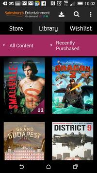 Sainsbury's Movies & TV screenshot 1