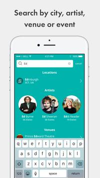 TickX - Gigs, Theatre & Comedy Tickets apk screenshot