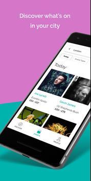 TickX - Gigs, Clubs, Comedy & Theatre Tickets apk screenshot