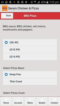 Sana's Chicken & Pizza screenshot 3