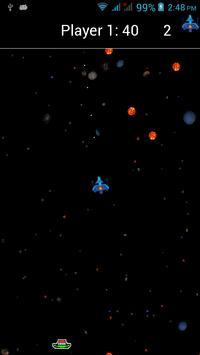 Space Rock Shoot Up Free screenshot 2