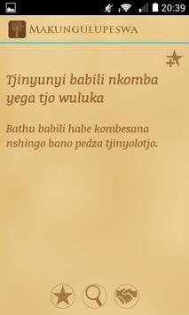 Makungulupeswa apk screenshot