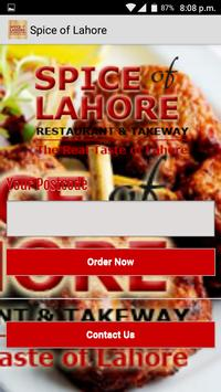 Spice of Lahore poster