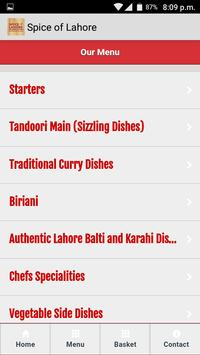 Spice of Lahore screenshot 1