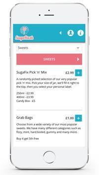 Sugarush Delivery screenshot 1