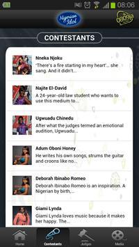 Nigerian Idol from etisalat apk screenshot