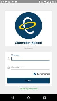 Clarendon School poster
