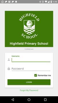 Highfield Primary School poster