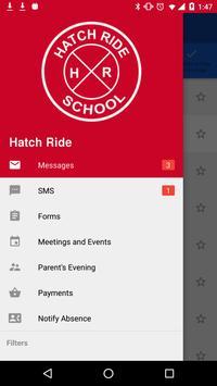 Hatch Ride ParentMail screenshot 1