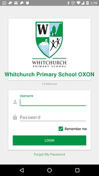 Whitchurch Primary School OXON poster