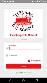 Fletching C.E. School poster