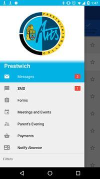 Prestwich Arts College apk screenshot
