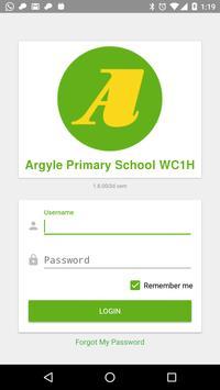 Argyle Primary School WC1H poster