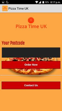 Pizza Time UK poster