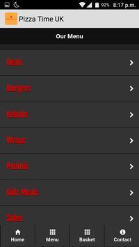 Pizza Time UK screenshot 1
