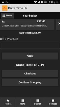 Pizza Time UK screenshot 5
