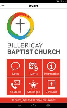 Billericay Baptist Church apk screenshot