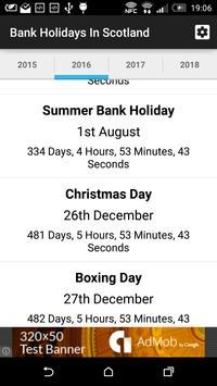 Bank Holidays In Scotland screenshot 1