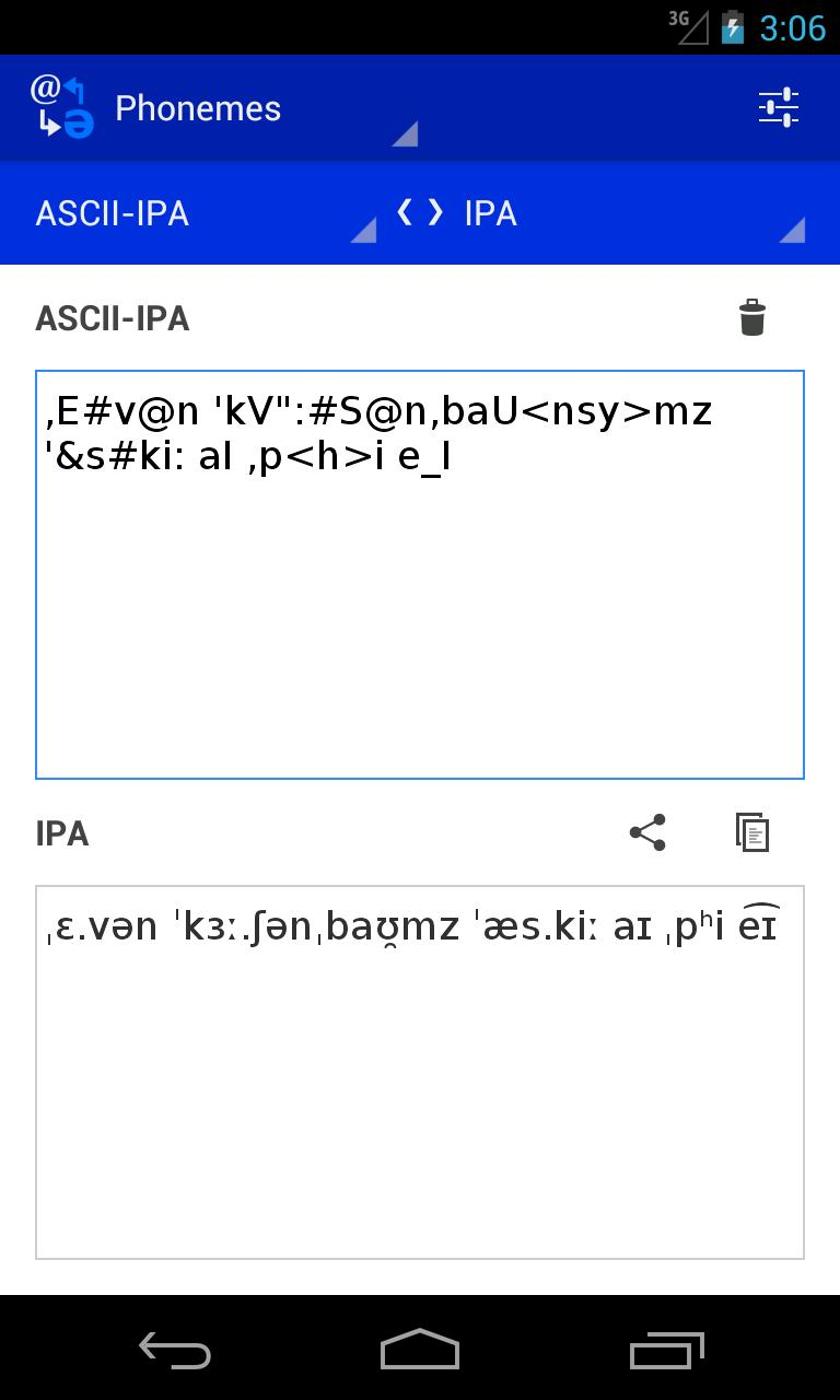 Phoneme Converter for Android - APK Download