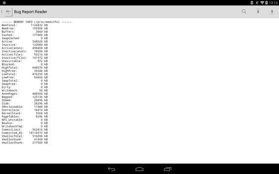 Bug Report Reader screenshot 2