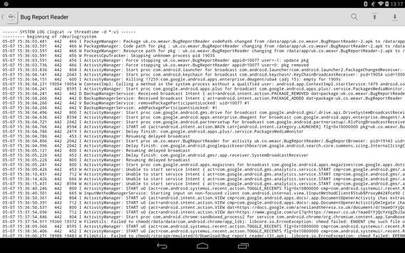 Bug Report Reader screenshot 4