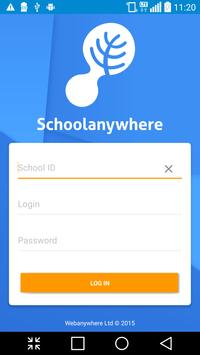 Schoolanywhere poster