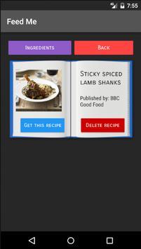 Feed me recipe finder descarga apk gratis comer y beber aplicacin feed me recipe finder captura de pantalla de la apk forumfinder Images