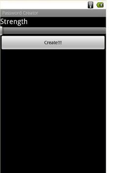 Password Creator apk screenshot