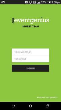 Event Genius Street Team poster